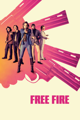 Official movie poster for Free Fire (2017)