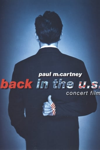 Poster of Paul McCartney: Back in the U.S.