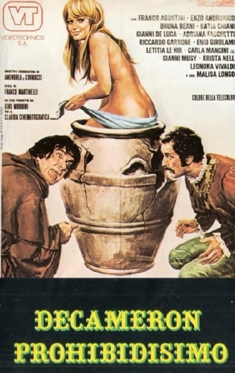 Poster of Decameron proibitissimo (Boccaccio mio statte zitto)