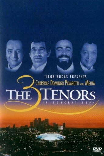 Poster of The 3 Tenors in Concert