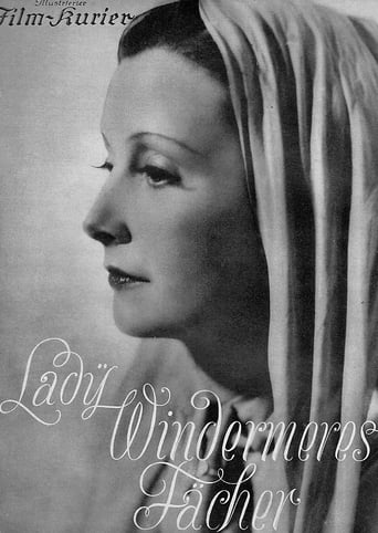 Poster of Lady Windermeres Fächer