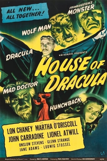 Poster of House of Dracula