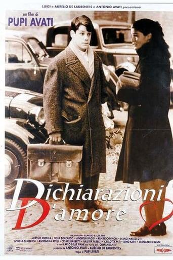 Poster of Dichiarazioni d'Amore