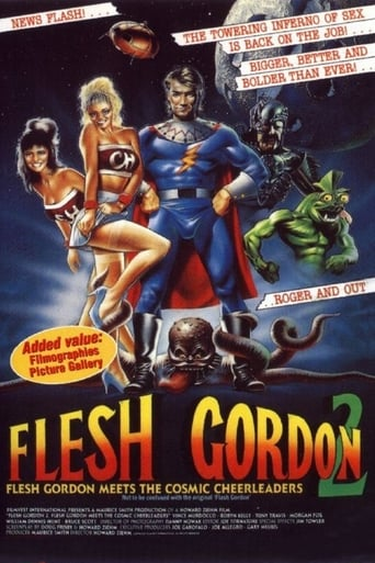 Poster of Flesh Gordon meets the Cosmic Cheerleaders