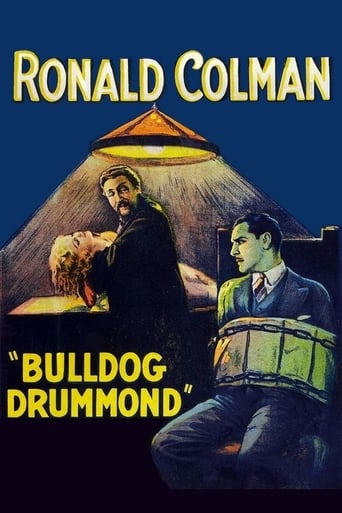 Poster of Bulldog Drummond