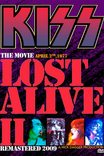KISS - THE LOST ALIVE 2 MOVIE