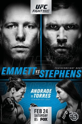 Poster of UFC on Fox 28: Emmett vs. Stephens