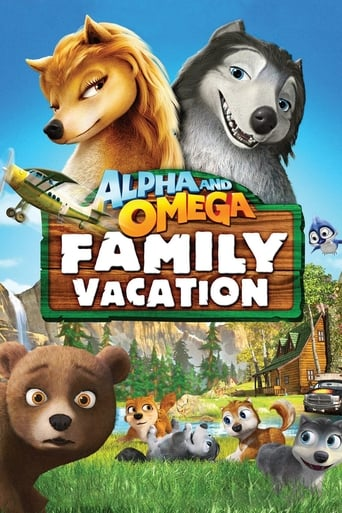 Poster of Alpha and Omega 5: Family Vacation