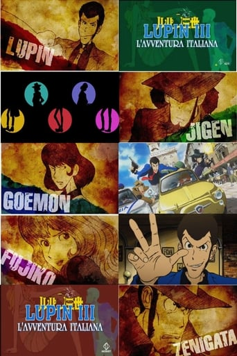 Cartoni animati Lupin III - L'avventura italiana - Lupin the Third Part 4