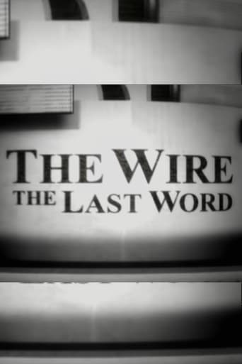 Poster of The Wire: The Last Word