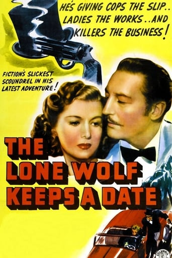 Poster of The Lone Wolf Keeps a Date