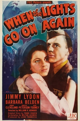 Poster of When the Lights Go On Again