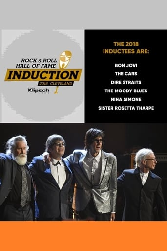 Poster of 2018 Rock and Roll Hall of Fame Induction Ceremony
