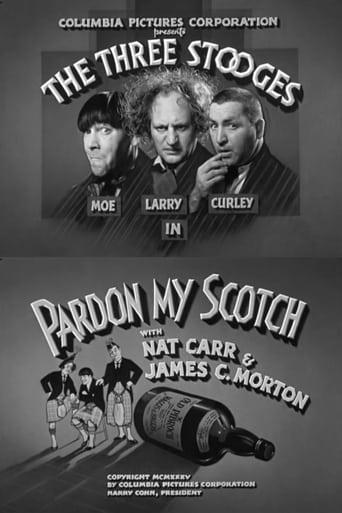 Poster of Pardon My Scotch