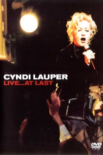 Poster of Cyndi Lauper: Live... At Last