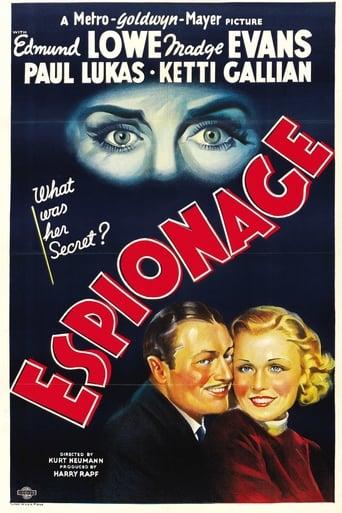 Poster of Espionage