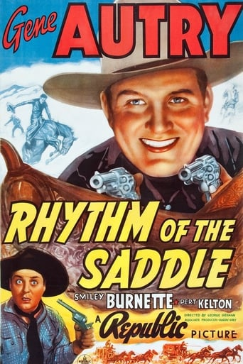 Poster of Rhythm of the Saddle