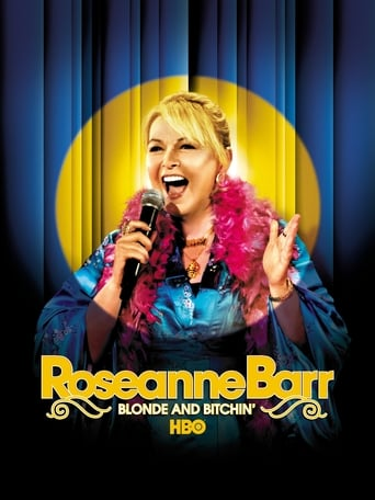 Poster of Roseanne Barr: Blonde and Bitchin'