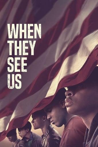 Olhos que Condenam 1ª Temporada - Poster