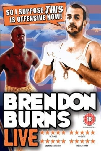 Brendon Burns: So I Suppose This Is Offensive Now