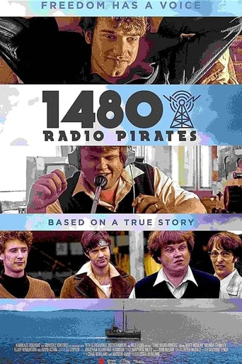 1480 Radio Pirates Poster