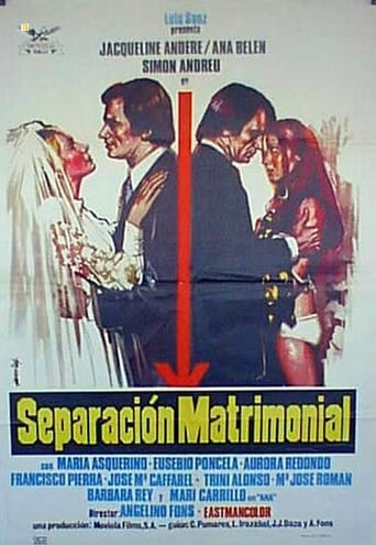 Poster of Separación matrimonial