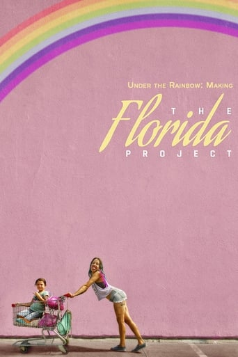 Poster of Under the Rainbow: Making The Florida Project