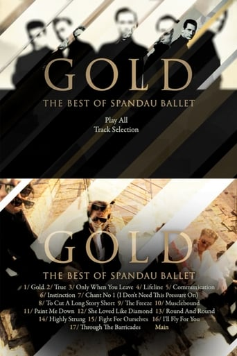 Poster of Spandau Ballet - Gold: The Best Video of