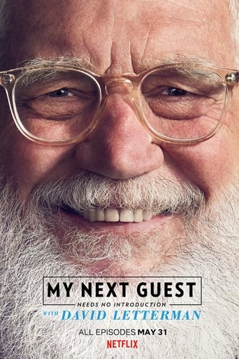 My Next Guest Needs No Introduction with David Letterman Poster