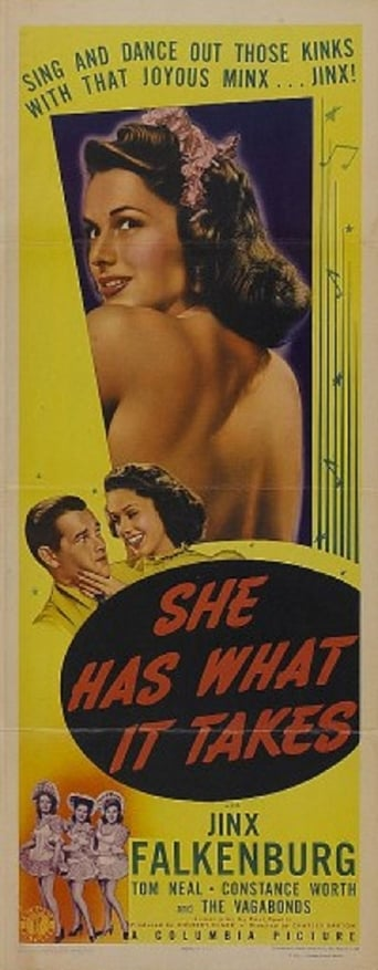 Poster of She Has What It Takes