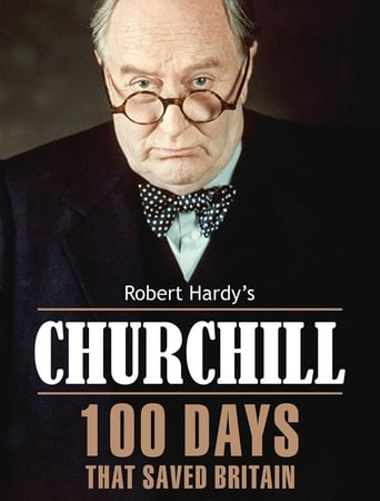 Poster of Churchill:  100 Days That Saved Britain