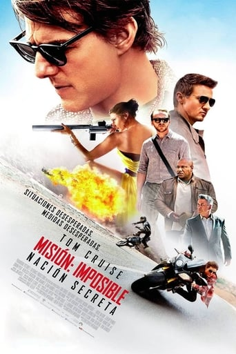 Poster of Misión imposible: Nación secreta