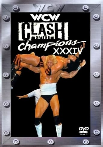 Poster of WCW Clash of the Champions XXXIV