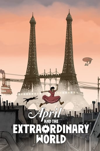 April and the Extraordinary World poster