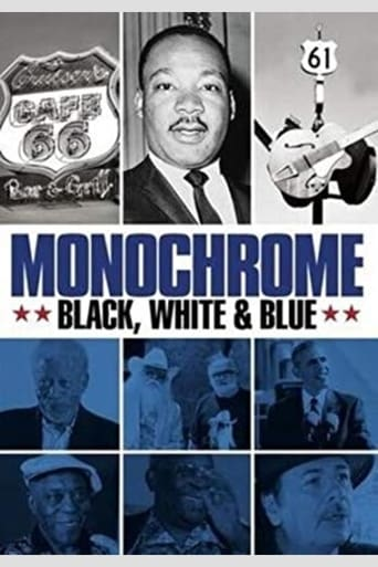 Poster of Monochrome: Black, White & Blue