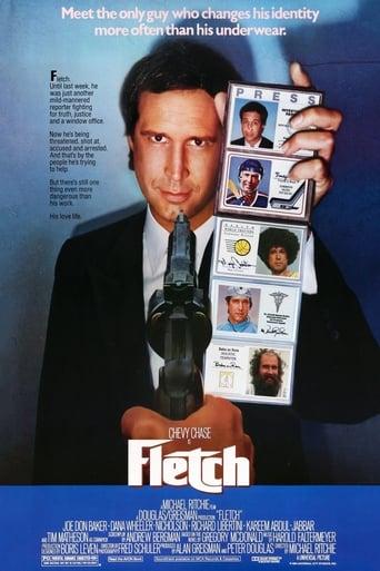 Fletch (1985) - poster
