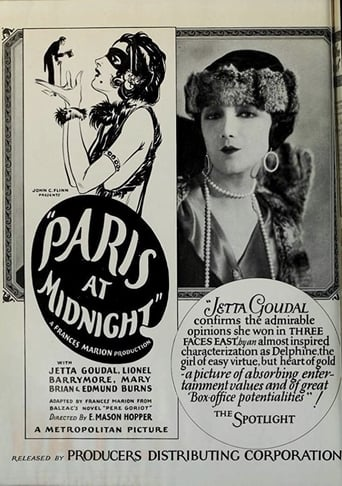 Paris at Midnight Movie Poster