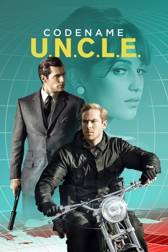 Filmplakat von Codename U.N.C.L.E.