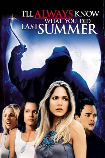 Poster of I'll Always Know What You Did Last Summer