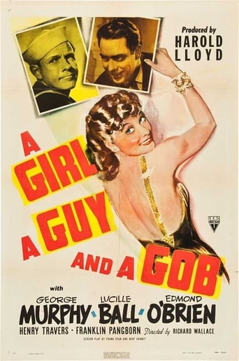 Poster of A Girl, a Guy, and a Gob