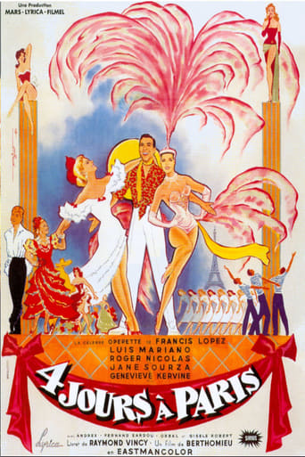 Poster of Quatre jours à Paris