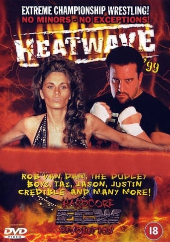 Poster of ECW Heat Wave 1999