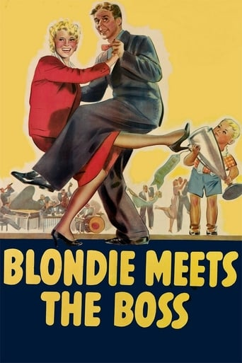 Poster of Blondie Meets the Boss
