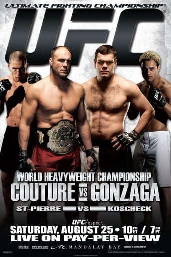 Poster of UFC 74: Respect