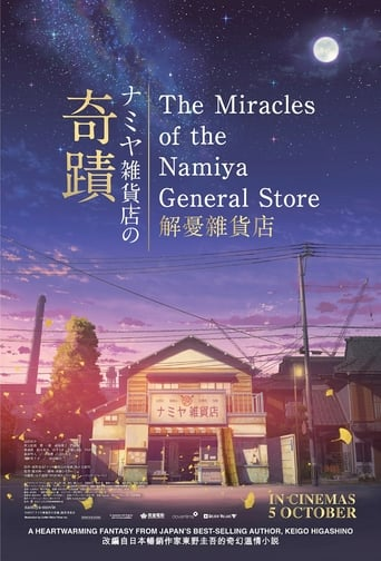 Poster of The Miracles of the Namiya General Store