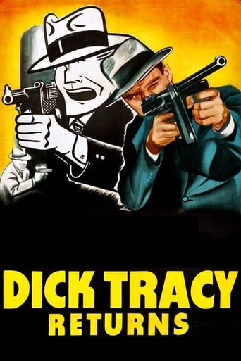 Poster of Dick Tracy Returns