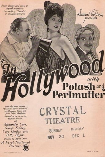 Poster of In Hollywood with Potash and Perlmutter