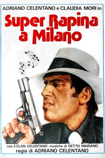 Poster of Super robo en Milán