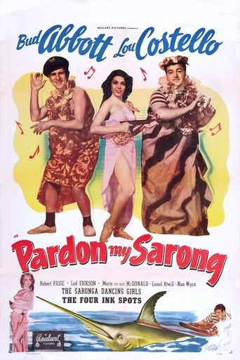 Poster of Pardon My Sarong