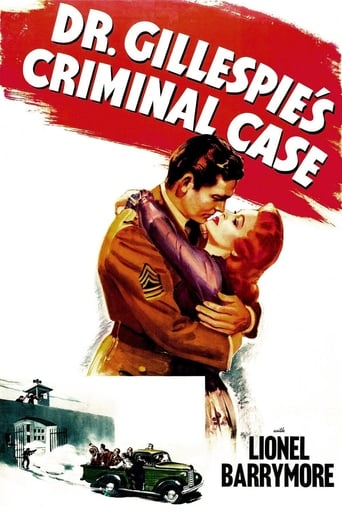 Poster of Dr. Gillespie's Criminal Case
